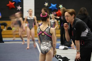 NOCredit_Really awesome picture--Rodica coaching Kaytlyn at Level 8 Regionals